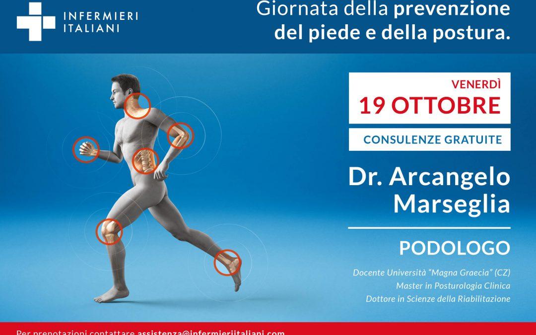 Giornata dell Prevenzione del Piede e della Postura