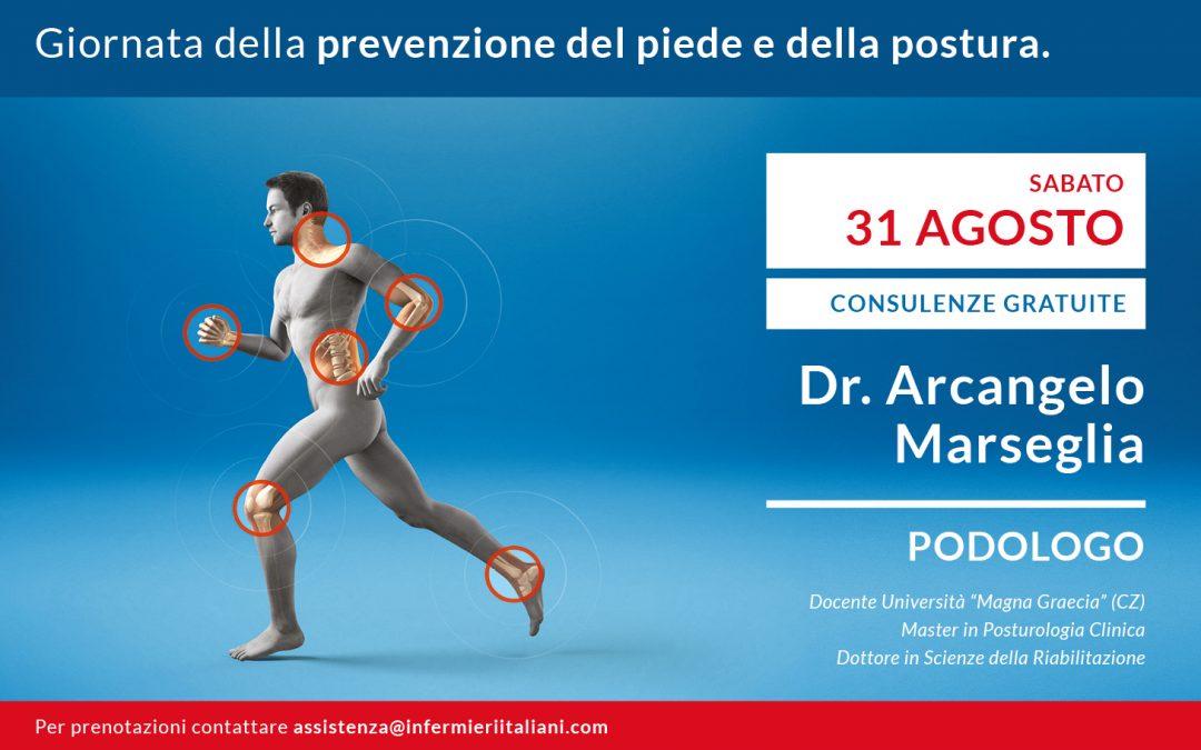 Giornata della prevenzione della salute del piede e della postura