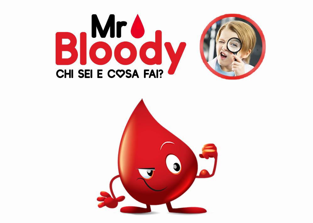 Mr. Bloody. Chi sei e cosa fai? Laboratorio di Infermieristica per Bambini dai 3 ai 6 anni